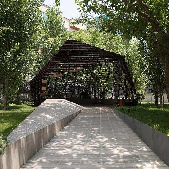 Columnless canopy | سایه بان بی ستون