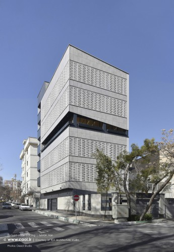 Zartosht office building in Tehran by TKA Architecture Studio  1