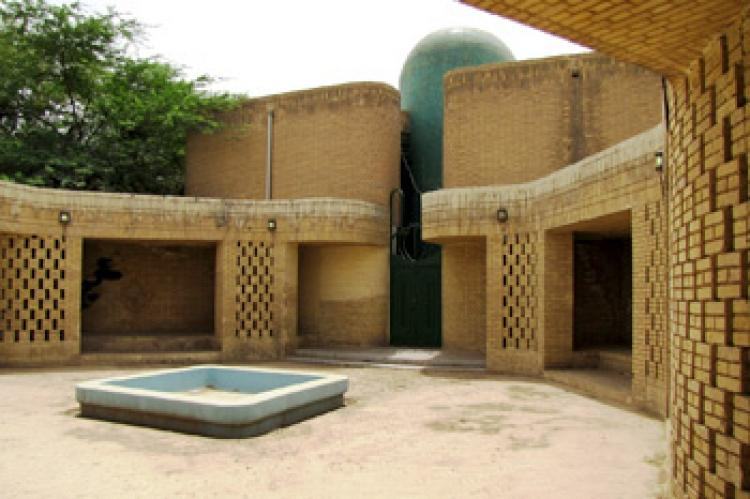 Mosque of Shahid Chamran University in Ahvaz