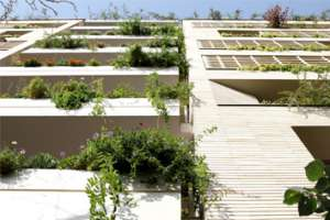 Green House in Tehran | Architecture of Iran